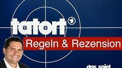 Tatort: Das Spiel / Anleitung & Rezension / SpieLama