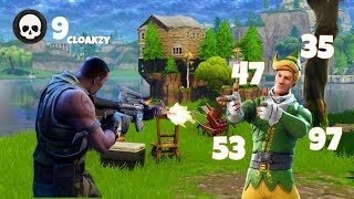 FORTNITE CLOAKZY DROPS 9 KILLS IN 50 SECONDS SUS HAMLINZ #fortnite #hamlinz #cloakzy funny moments
