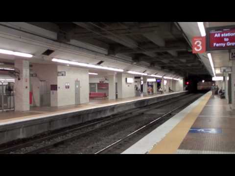 Brisbane Central Station Train Queensland Rail