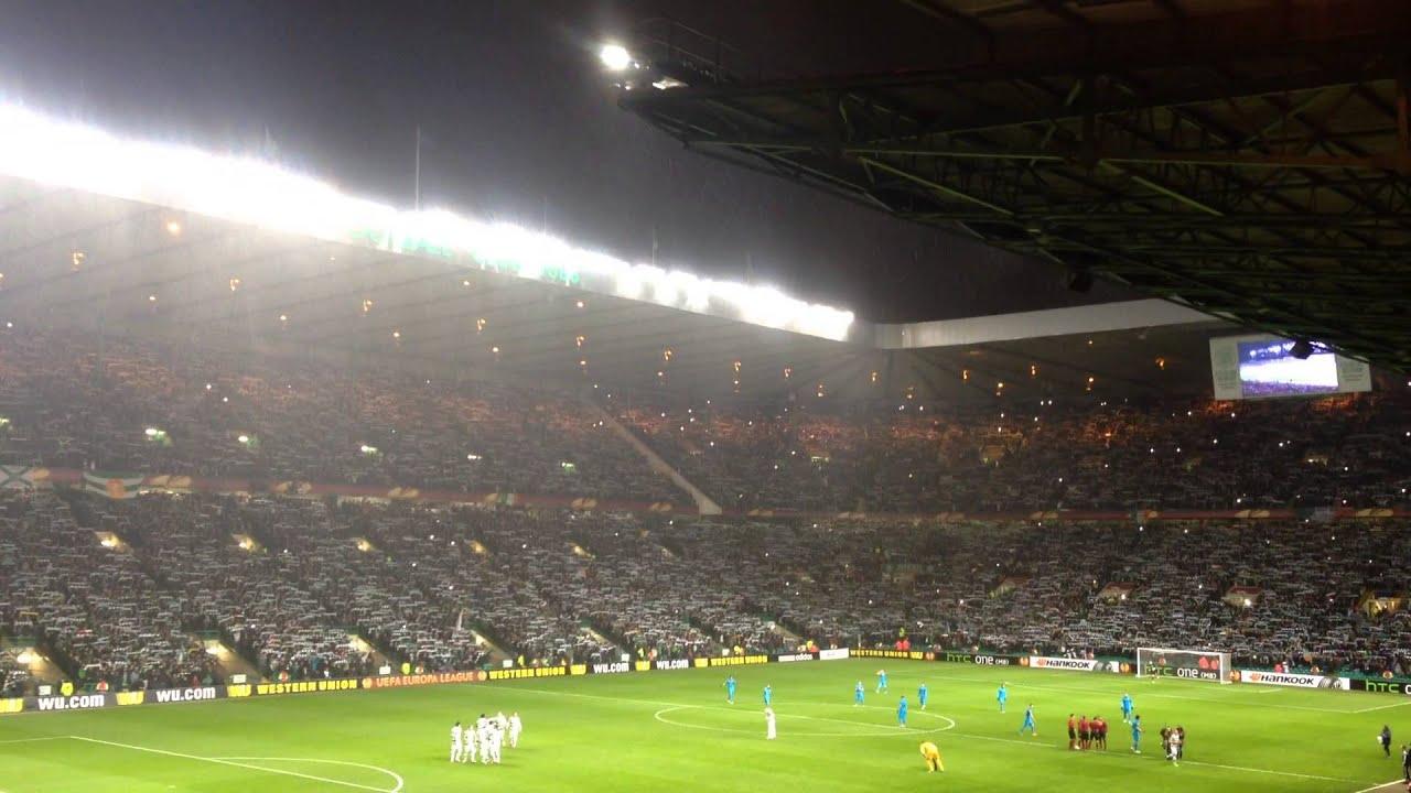 Celtic v Inter Milan - You'll never walk alone