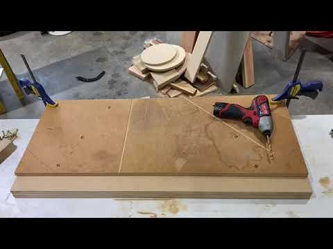 Making A Mr Sawdust Table For My Radial Arm Saw