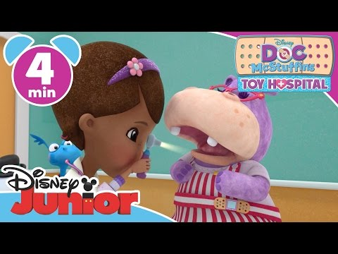 Doc McStuffins | Hoarse Hallie | Disney Junior UK