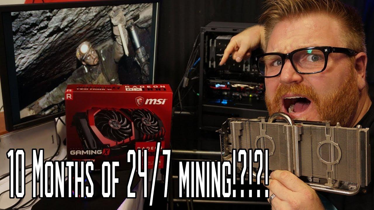 Mining Digibyte on RTX 2070 hashrate