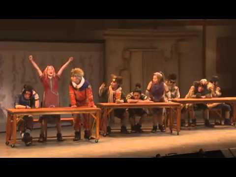Naruto Stage Production Classroom Scene Youtube