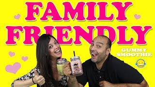 GUMMY SMOOTHIE FAMILY FRIENDLY!! El Batido de moda de los Youtubers❤💕