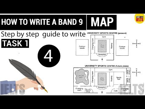 IELTS Writing Task 1 MAP: Lesson 4: How to Write a Band 9   Step by step