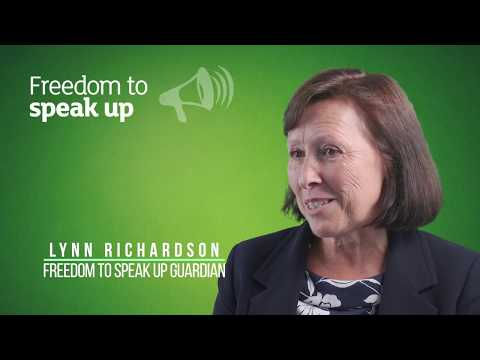 Lynn Richardson - Freedom to Speak up Guardian