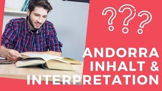 Max Frisch: Andorra - Inhalt und Interpretation