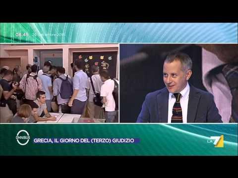 Omnibus - Grecia, il giorno del (terzo) giudizio (Puntata 20/09/2015)