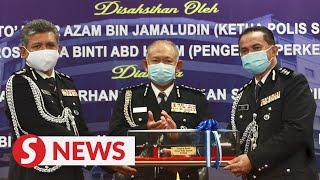 Veteran crimebuster Razali Abu Samah is new Serdang OCPD