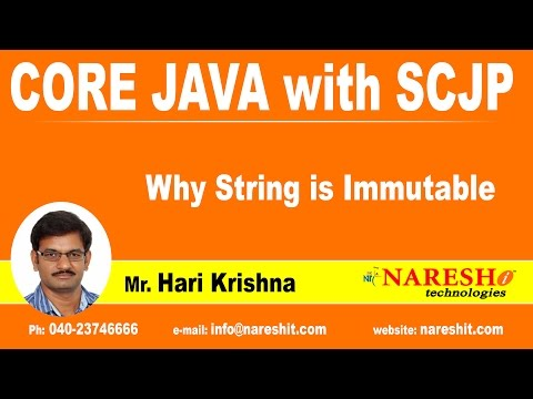 Why String is Immutable | Java Tutorial