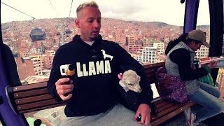 Bolivia's Cheapest Market: Shopping w/Pet Llama Jeff 🇧🇴