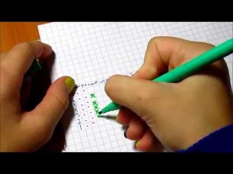 Как делать схемы для браслетов из резинок