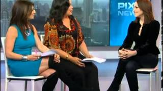 Liz Gillies on Pix 11 Morning News