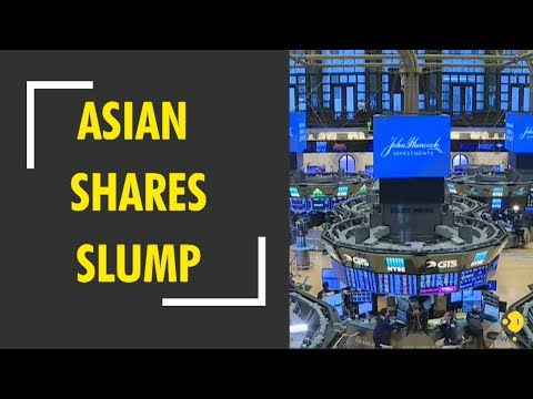 Asian shares slump as Wall Street erases all of 2018 gains