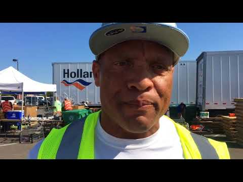 Hall of Famer Aeneas Williams supports Harvey flood relief
