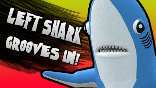 LEFT SHARK JOINS THE BATTLE! | Gmod Funny Moments w/ Friends