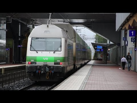 Trains in Finland 2017 day 1 of 2