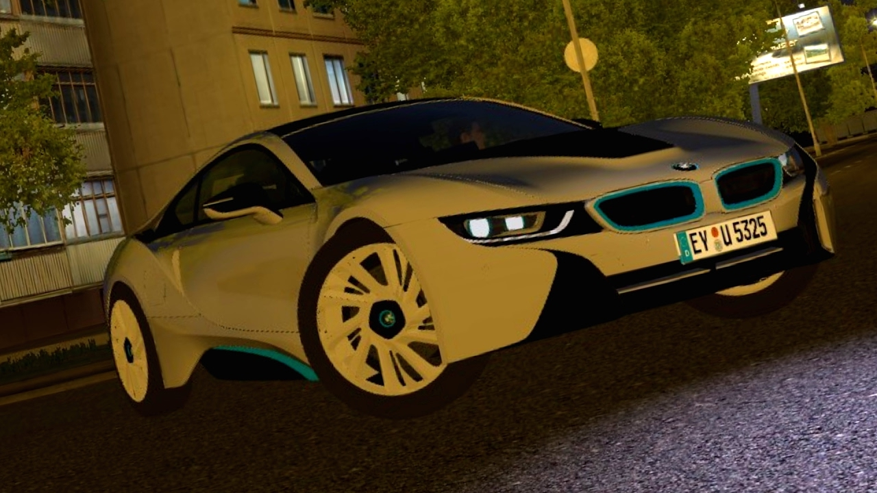 city car driving 1.5.3 bmw i8 logitech g27 [1080p][60fps] - youtube