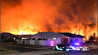 Hot And Windy Conditions Aggravate Qld Fires