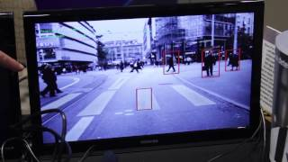 Videantis Demonstrations of Structure from Motion, Pedestrian Detection, and Face Detection