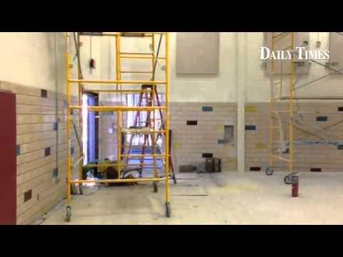 Naschitti Elementary School gymnasium was renovated