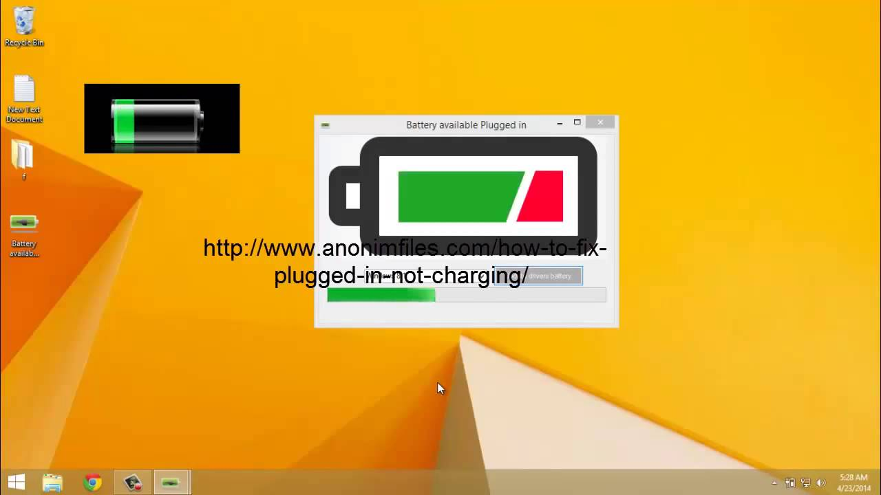 Plugged in not charging toshiba - YouTube
