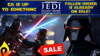 Jedi Fallen Order Keeps Going On Sale Months Before Release! EA Preparing for Low Sales?