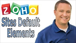 Theme Defaults on Zoho Sites - Elements & Visual Editor