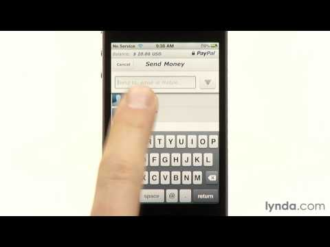 Sending And Receiving Money Through The Paypal App