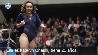 Mira la sorprendente rutina gimnástica de Katelyn Ohashi