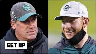 The Eagles chose Carson Wentz over Doug Pederson - Dan Orlovsky   Get Up