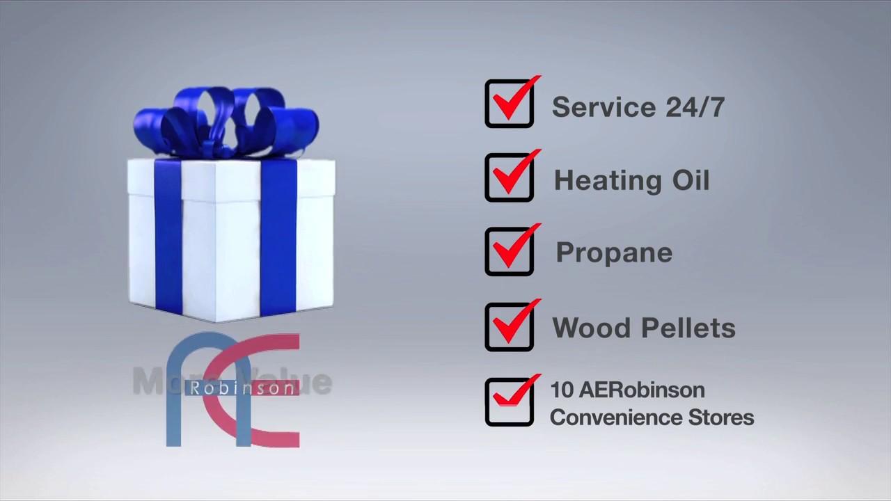 A E  Robinson Oil Company - Maine Heating Oil and Service Company