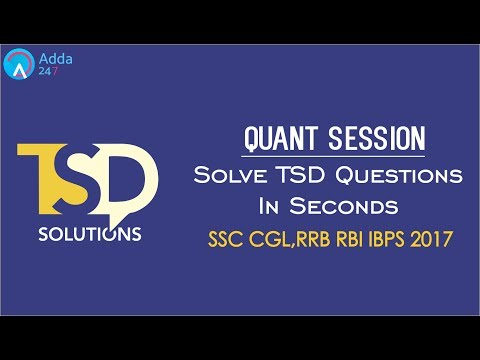 SSC CGl, RBI, RRB,  | Time Speed Distance Shortcuts | Maths | Online Coaching for SBI IBPS Bank PO