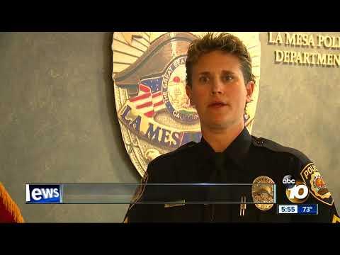 La Mesa Police to test body cameras