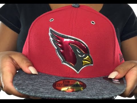 Cardinals  2016 NFL DRAFT  Fitted Hat by New Era - YouTube 50c08859ad6