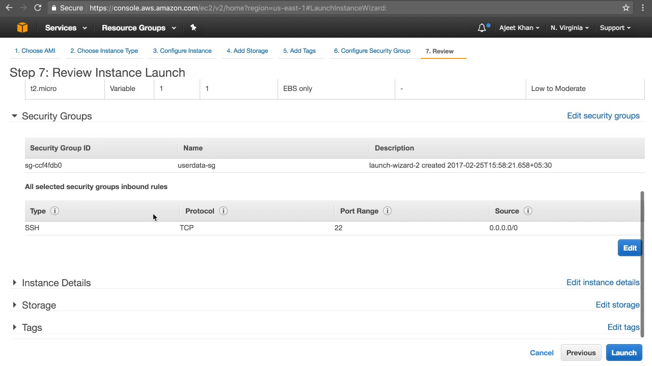 AWS User Data | Run Commands On Instance Launch | What Is Userdata in AWS  Tutorial With Example