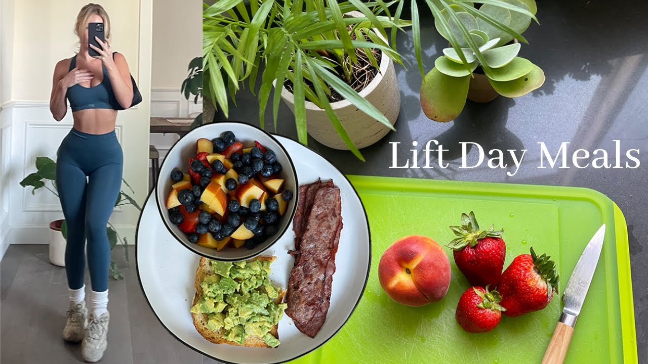 HEALTHY WHAT I EAT IN A DAY