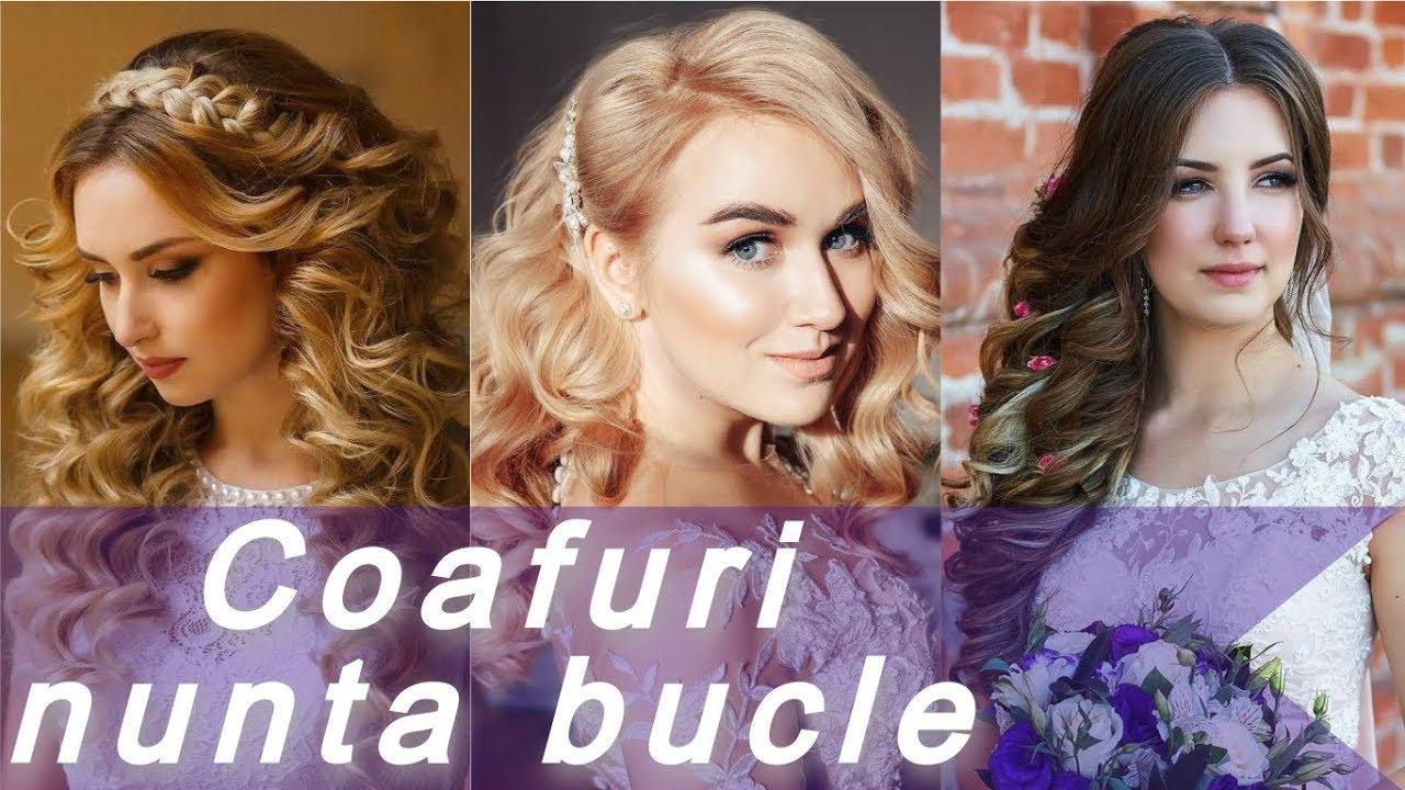 Top 20 Idei De Coafuri Nunta Bucle
