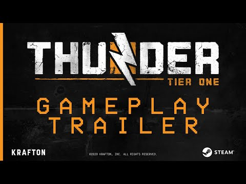 Thunder Tier One - Official TGA 2020 Gameplay Trailer