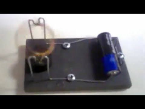Simple dc toy motor you can make it in about an hour for Simple toy motor project