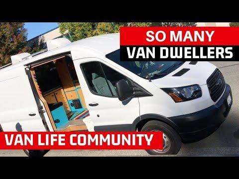 Van Dweller Meet Up | Van Tour, Van Build Ideas, Nomad Lifestyle