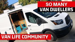 Van Dweller Meet Up | Van Tour, Van Build Ideas, Nomad Lifestyle