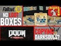 FALLOUT 76 NO LOOTBOXES! DOOM ETERNAL = DARK SOULS? MMO NEWS! PUBG! WALKING DEAD! STRANGE BRIGADE