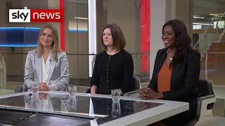 How are politicians appealing to women in the election campaign?
