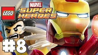 LEGO Marvel Superheroes - Part 8 - Rebooted, Re-suited! (HD Gameplay Walkthrough)
