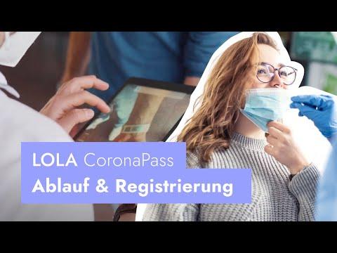 LOLA CoronaPass | Ablauf der App