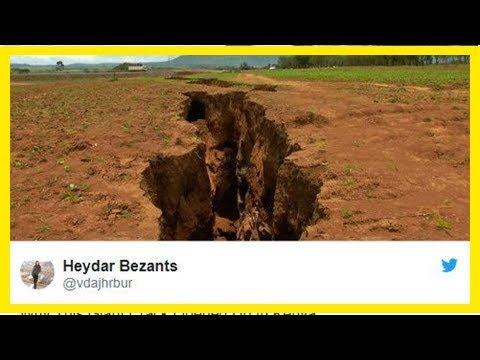 Se abre enorme grieta en África que la parte en dos - Noticias