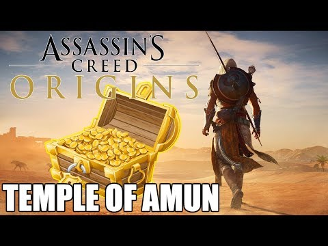 Temple of Amun Loot Treasure Locations | Assassin's Creed: Origins