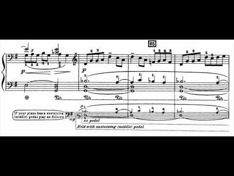 Percy Grainger - Molly on the Shore (piano)